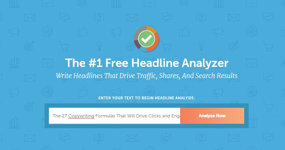 CoSchedule headline analzyer home