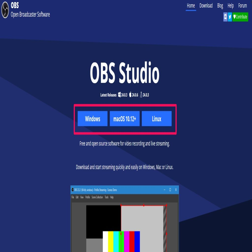 Installing OBS