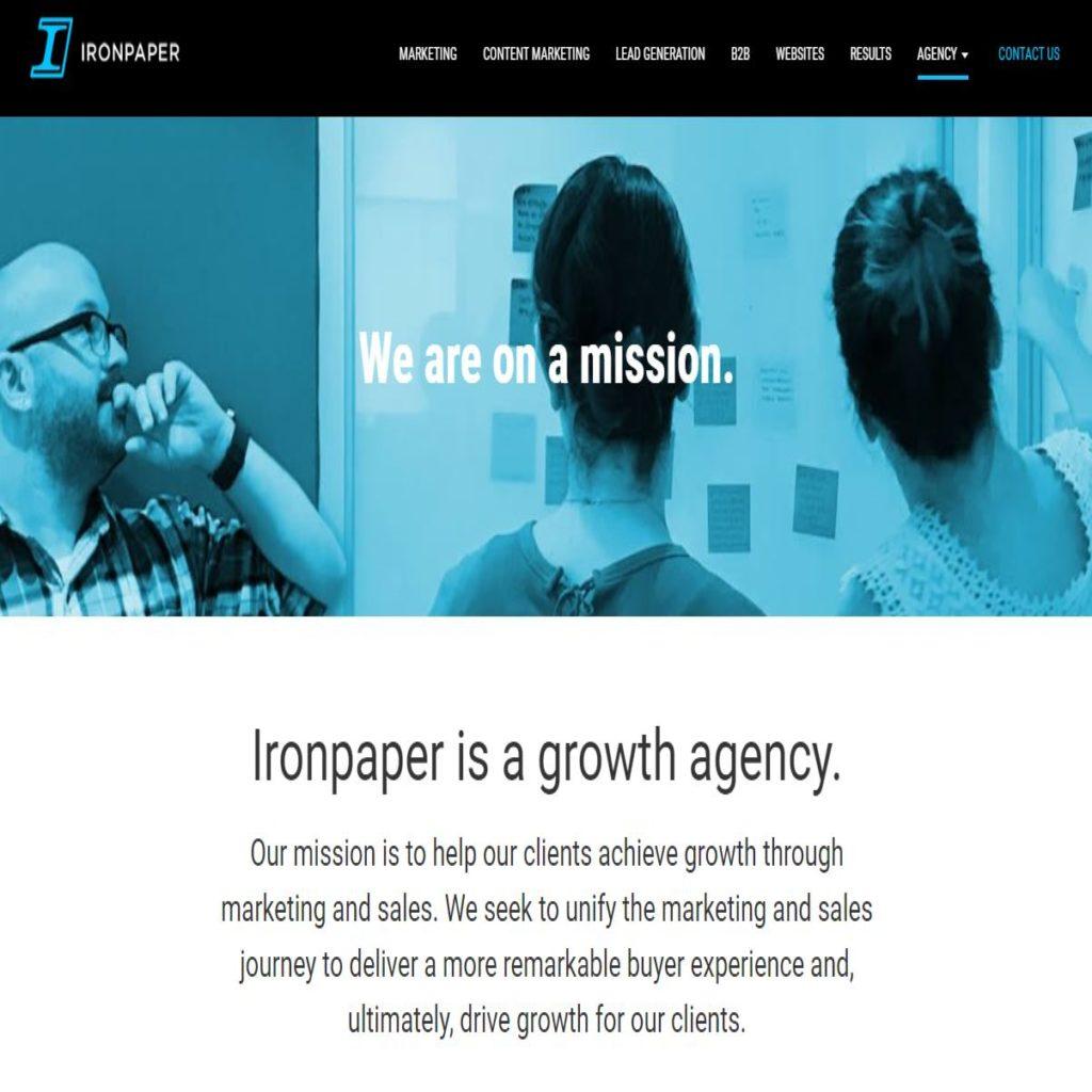 Ironpaper agency