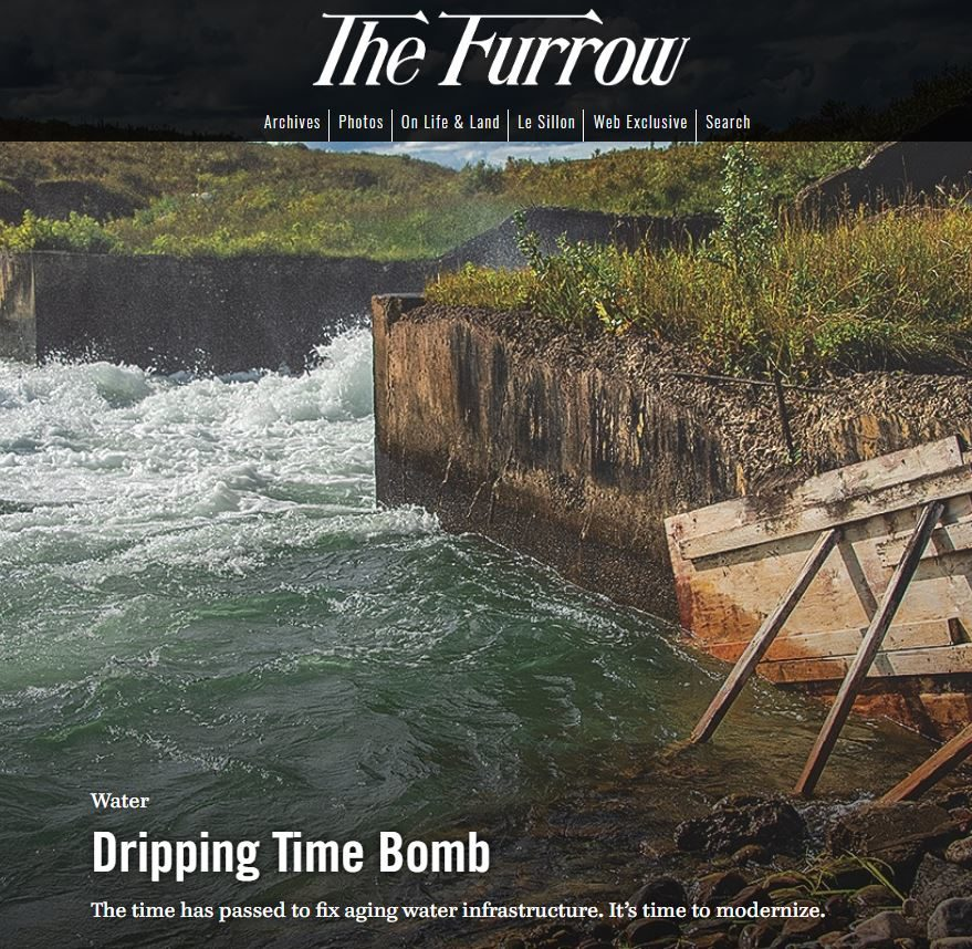 The Furrow homepage