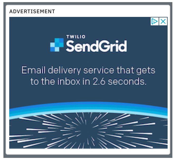 SendGrid ad