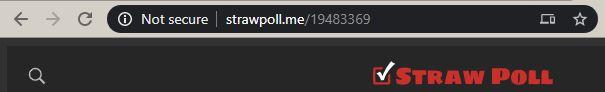 Straw Poll URL