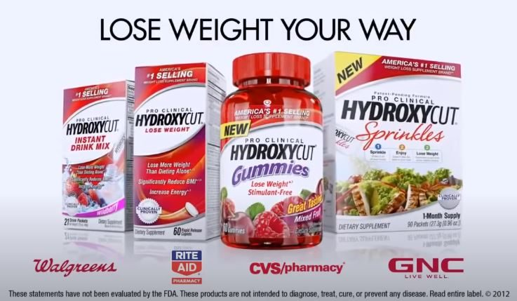 Hydroxycut end scene