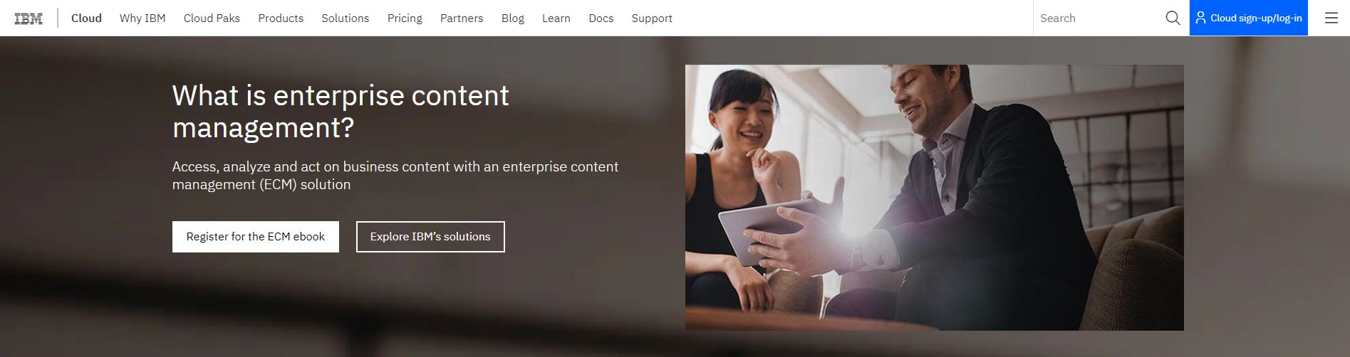 IBM content manager