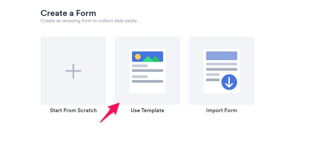 JotForm template
