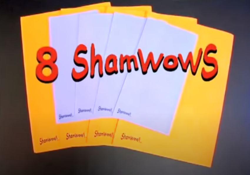 Shamwow amount