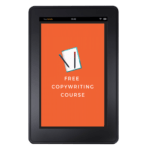 Free copywriting course tablet