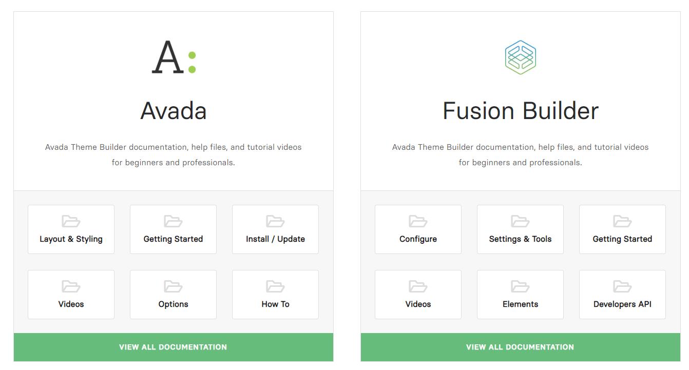 Avada documentation 1