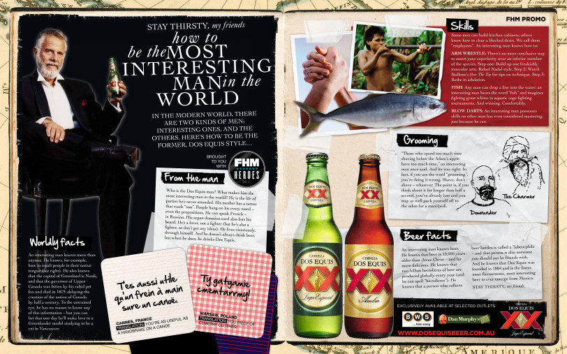Dosequis advertorial