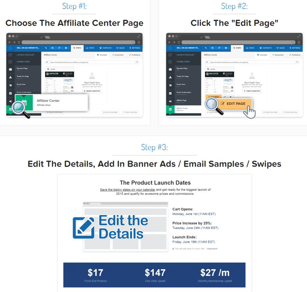 ClickFunnels affiliate material
