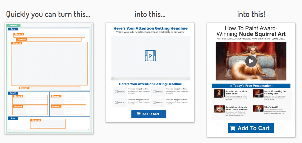 ClickFunnels page builder