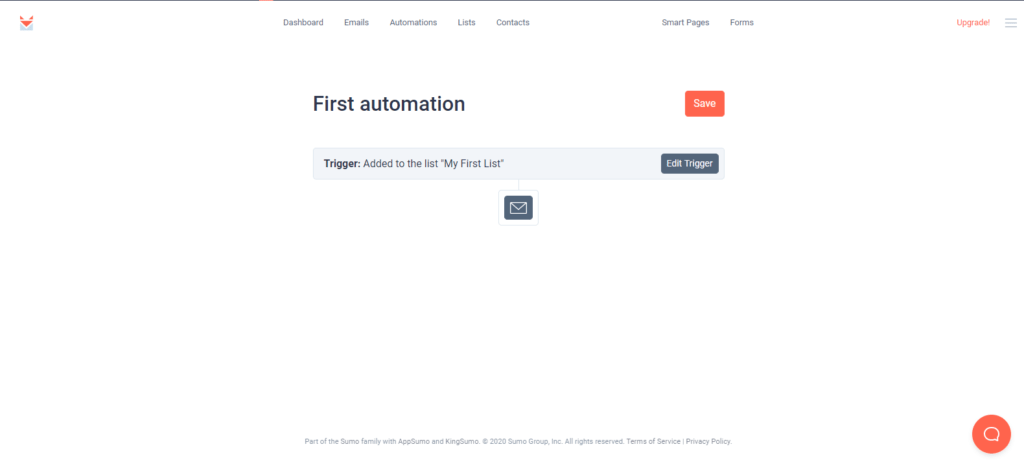 SendFox first automation