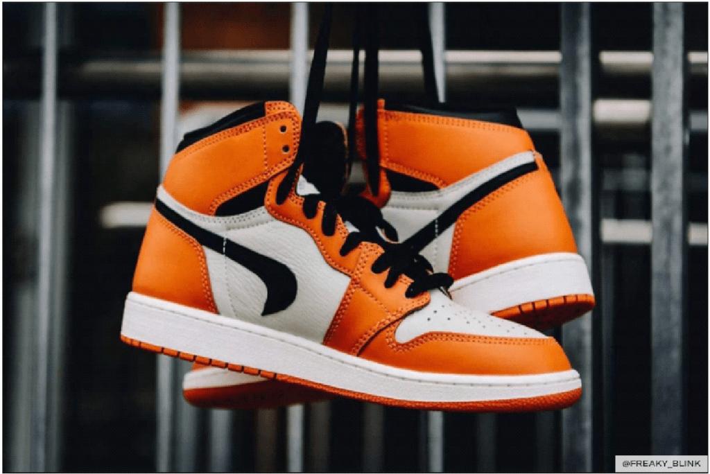 A pair of rare Air Jordan sneakers