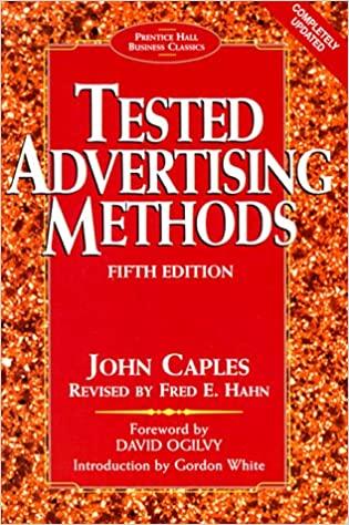 Tested Advertising Methods 1