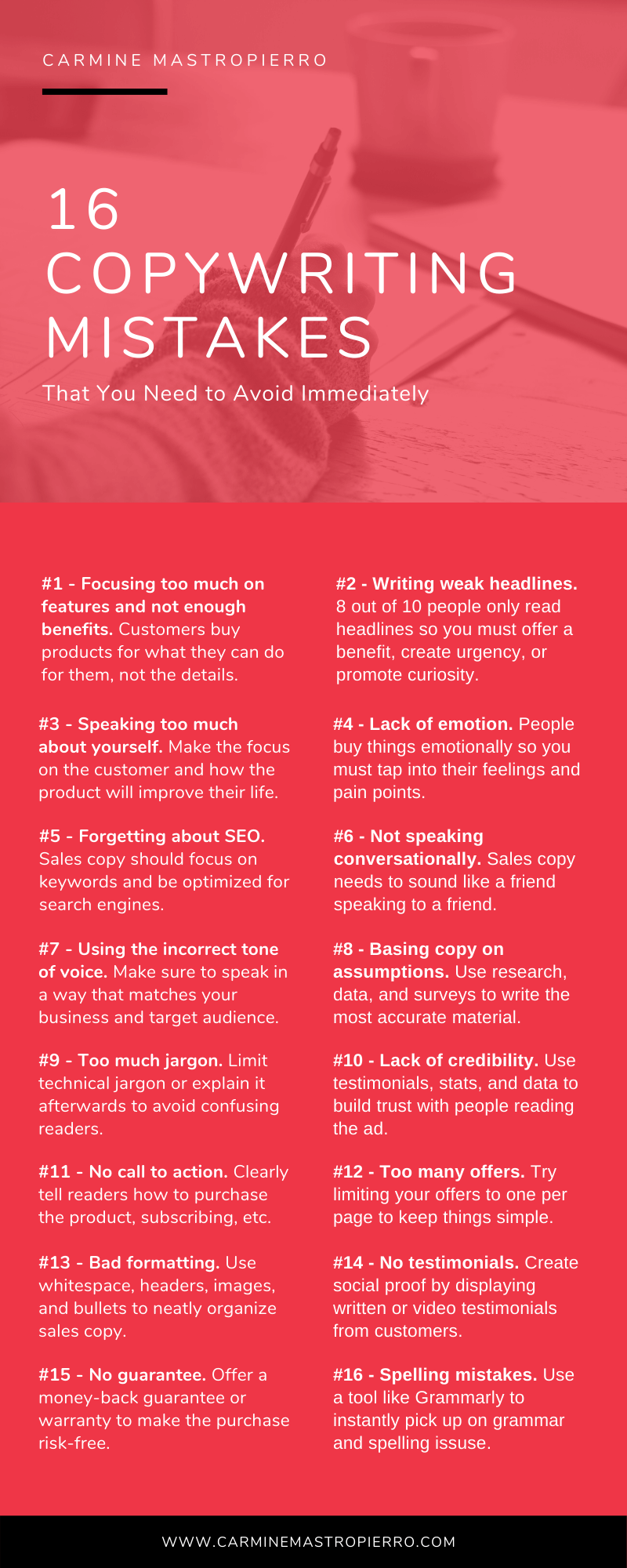 16 copywriting mistakes 1