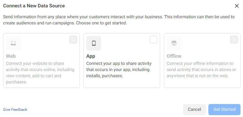 Facebook Pixel options