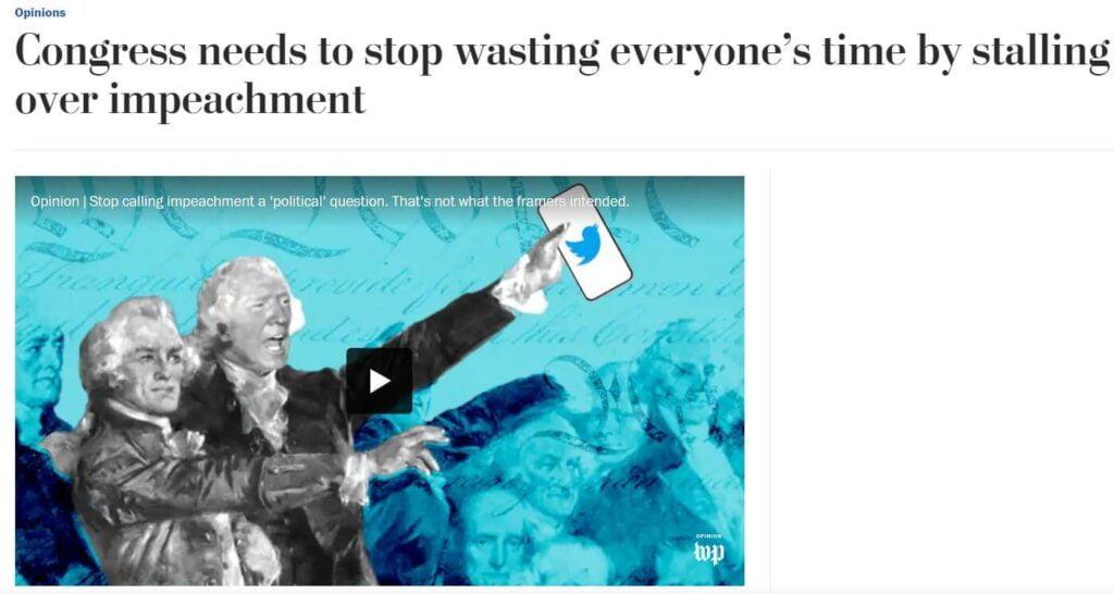 Washington Post editorial