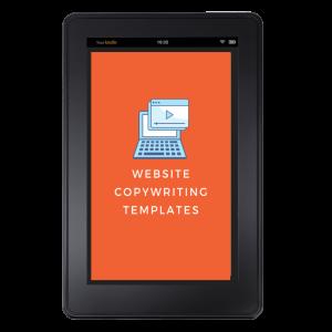 Website copywriting tablet